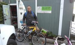 a recent koha bike and happy customer