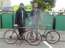 lads from Upper Hutt with their new preloved bikes