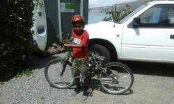 Bike donated