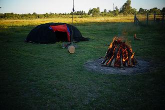 Schwitzhütten Zeremonie