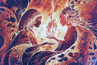 FEMININE HEART