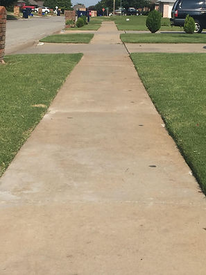 Raised Concrete - Releveled Sidewalk