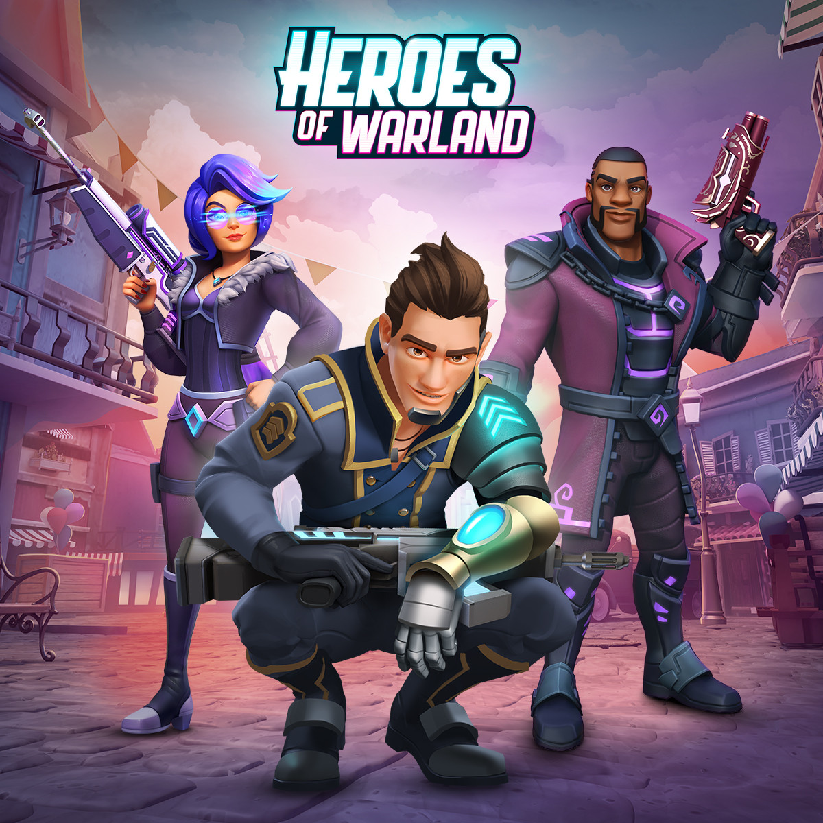 Heroes of Warland - Mobile shooter!