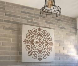 תמונה לקיר מטבח, מנדלה 42 מוקה
