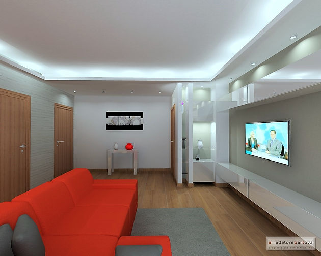 Come arredare un soggiorno con complementi di design.