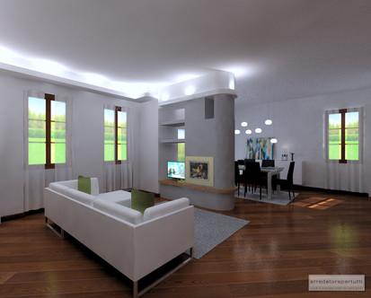 come trasformare un soggiorno e renderlo più moderno con poche ... - Soggiorno Moderno Con Tavolo E Divano