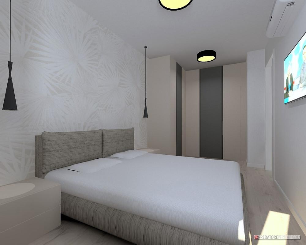 Parete Dietro Letto Idee come arredare la camera da letto: idee da progetti realizzati.