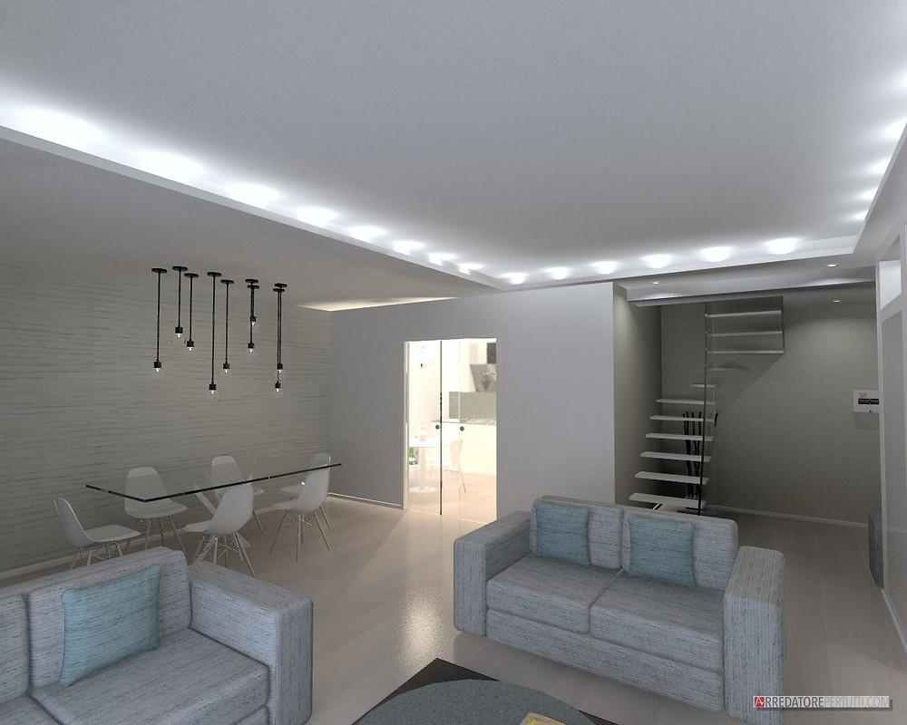 arredare una casa su due piani: idee e spunti