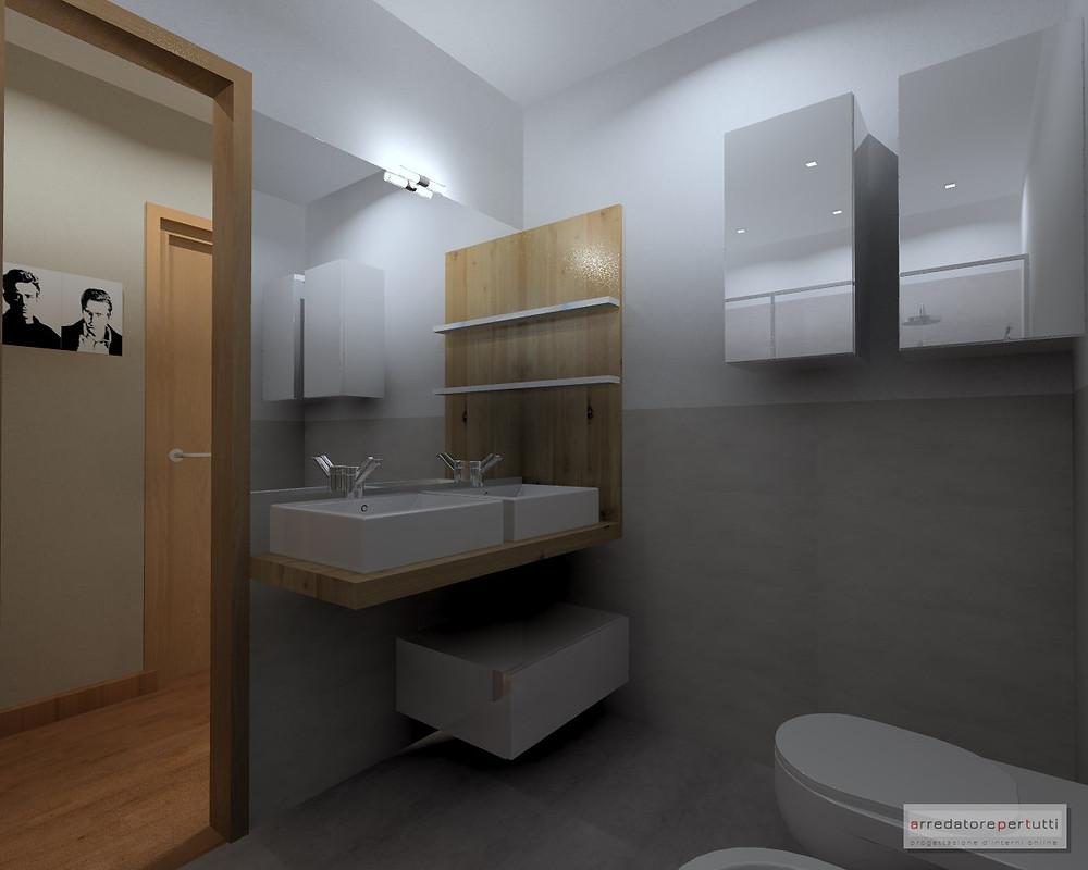 mobile lavabo doppio bagno
