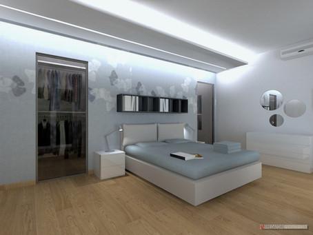 Come arredare la camera da letto: idee da progetti realizzati.
