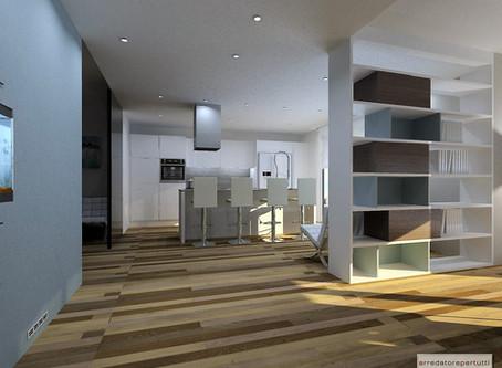 Arredare un open space: quando il pavimento in legno è protagonista!