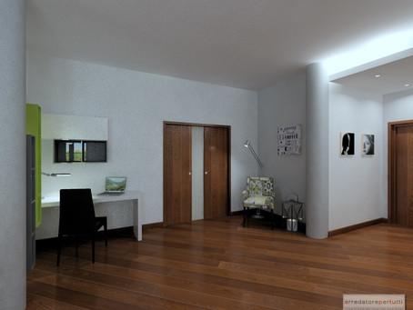 Come trasformare un soggiorno e renderlo più moderno con poche modifiche: il progetto.