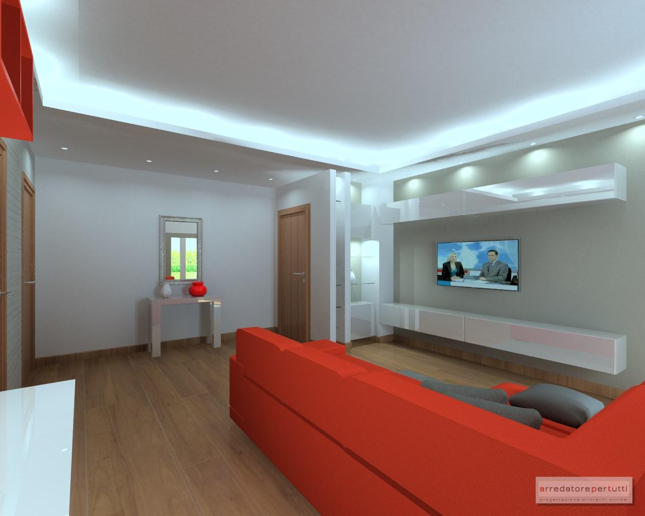 Progettazione Dinterni Fai Da Te : Come arredare un soggiorno a pianta irregolare il progetto