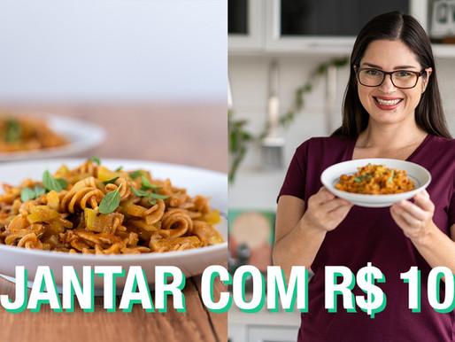MACARRÃO COM SARDINHA DE UMA PANELA SÓ