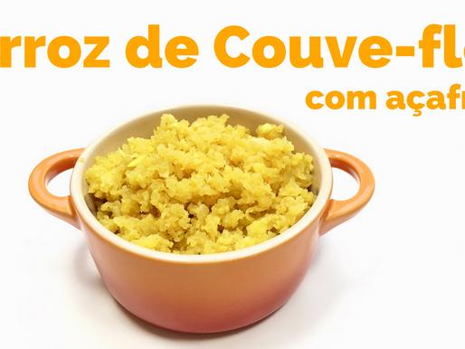 Arroz de Couve-flor com Açafrão / Cúrcuma