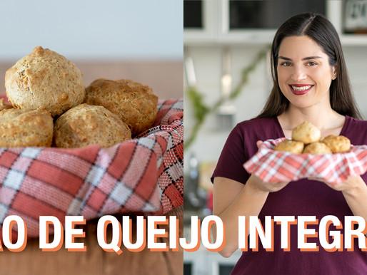 PÃO DE QUEIJO INTEGRAL DE LIQUIDIFICADOR