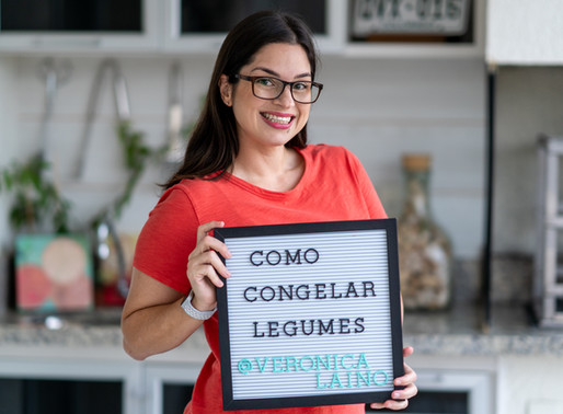 Como escolher, higienizar, preparar e congelar legumes e verduras para o mês todo | Branqueamento
