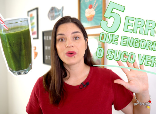 5 ERROS que você provavelmente está cometendo ao fazer o SUCO VERDE