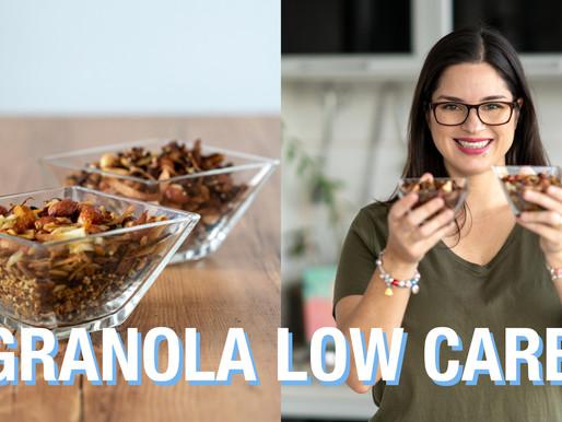 GRANOLA LOW CARB SEM GLÚTEN/ LACTOSE | SALGADA E DOCE