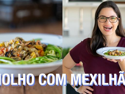 MOLHO BRANCO COM VEGETAIS E MEXILHÃO LOW CARB