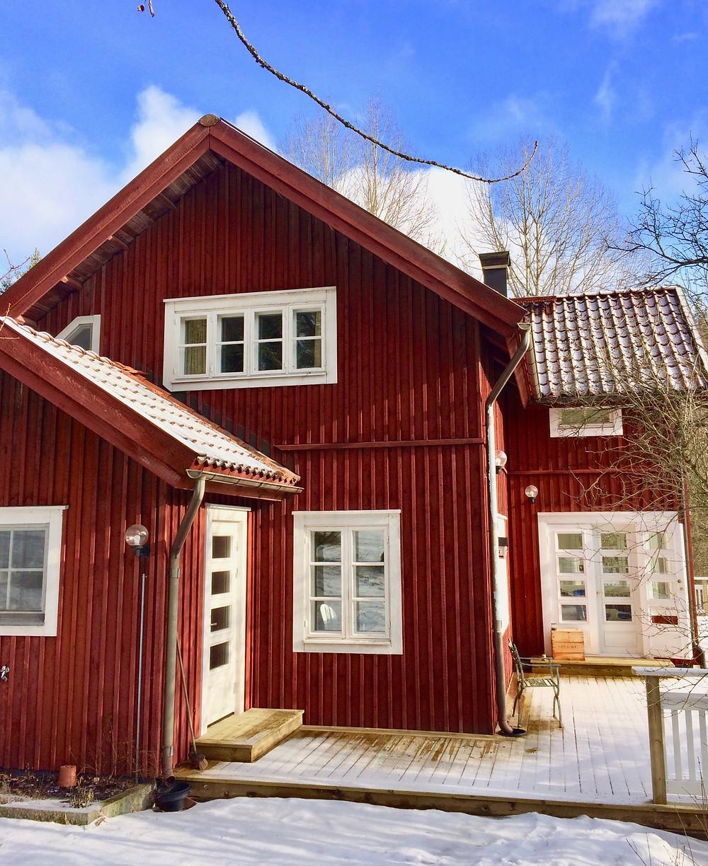 Stensund, my childhood home