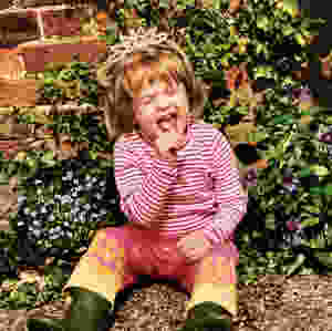 Gardens should be a happy place for kids
