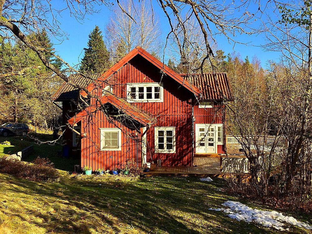 Stensund basking in winter sun