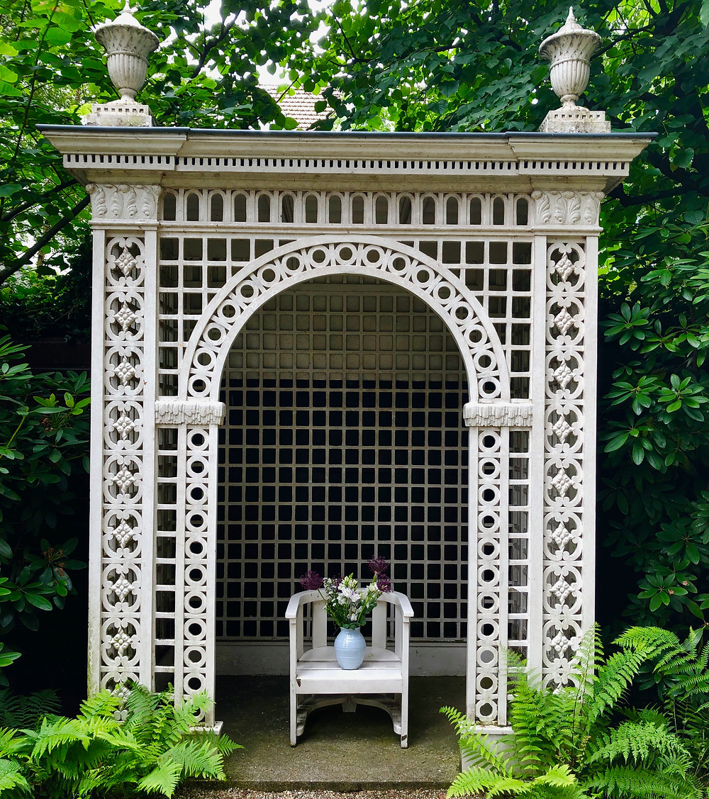 Beautiful pergola with details