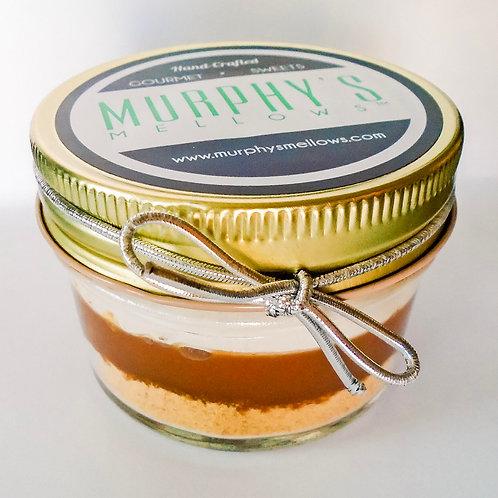 Caramel Apple S'mores in a jar