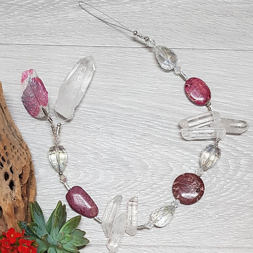 Chunky Crystal Hanger 60cm