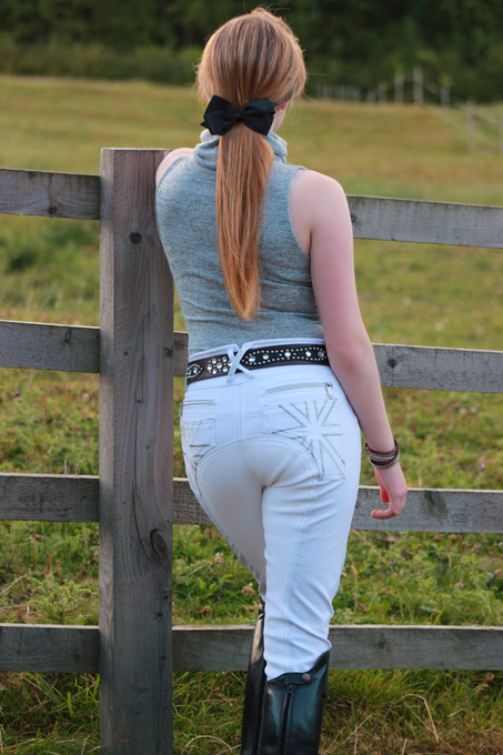 Chillout Horsewear High Waisted White Competition Breeches Review