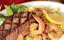 steak and shrimp special