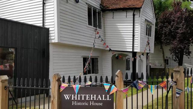 Sneak peek into Whitehall Historic House