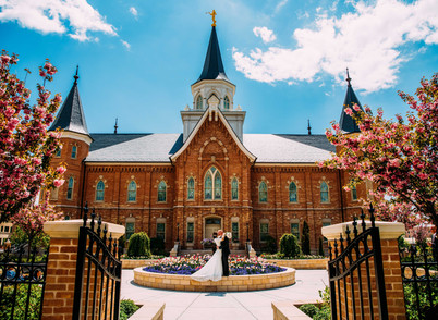 Spring Provo City Center Wedding