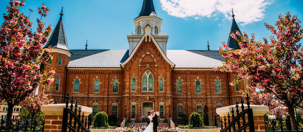 Spring Provo City Center Wedding with Ravyn & Josh
