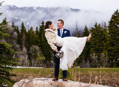 Snow Basin Winter Wedding