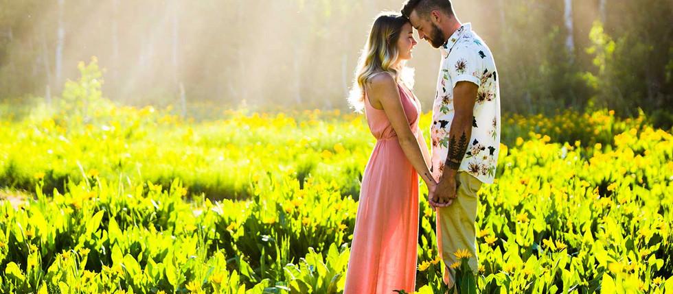 Summer Farmington Canyon Engagement with Cassidy & Rylan