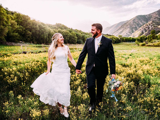 Spring Big Springs Park Bride & Groom Session with Carly and Chase