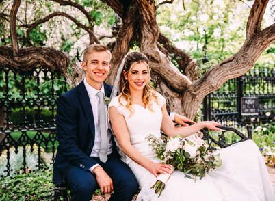 Spring Salt Lake Temple Wedding