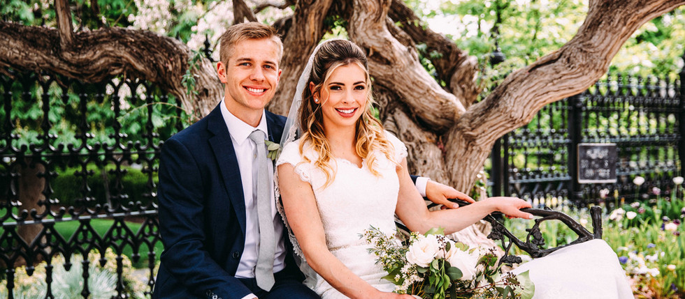 Spring Salt Lake Temple Wedding with Whitney & Kyler