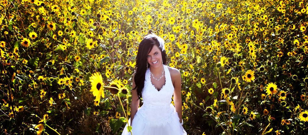 Summer Antelope Island Bridal with Megan