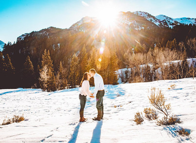 Winter Tibble Fork Engagement