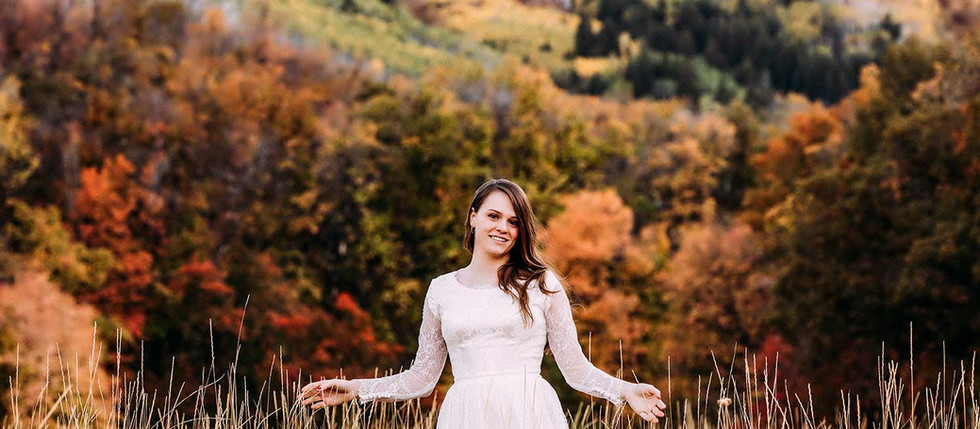 Fall Big Springs Park Bridal Session with Sammy