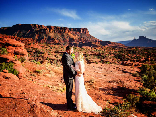 Spring Fisher Towers Wedding with Carly and Chase