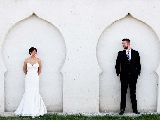 Summer Saltair Bride Groom Session with Andrew & Brooke