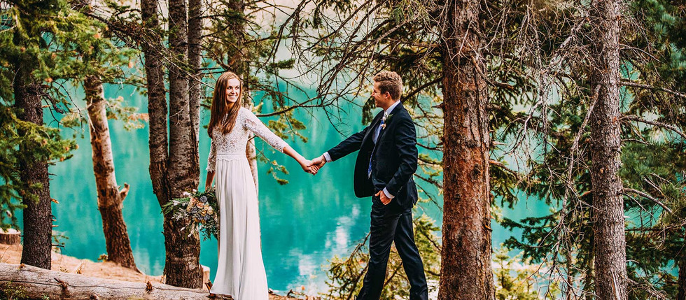 Fall Tibble Fork Bride and Groom Session with McKenna & Derek