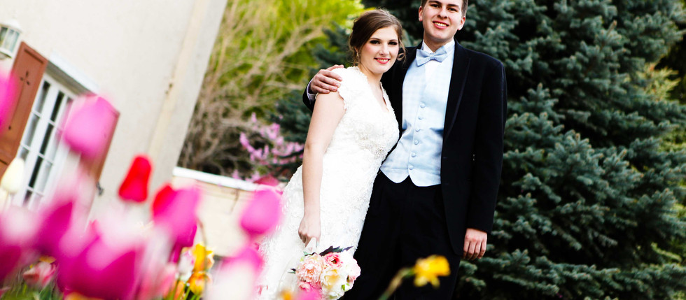 Spring Memory Grove Bride and Groom Session with Chantel & Dylan
