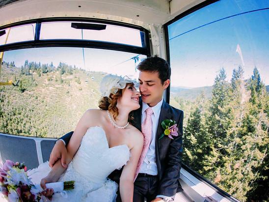 Summer Red Pine Lodge Wedding with Alexia & Derek