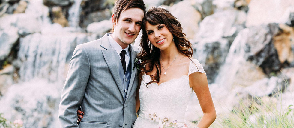 Summer Millennial Falls Wedding with Kaitlyn & Cody