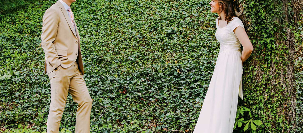 Spring Memory Grove Bride And Groom Session with Sydney & Thomas